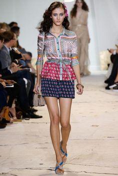Diane von Furstenberg Clothes glamhere.com Diane von Furstenberg Spring 2016 Ready to Wear Fashion Show