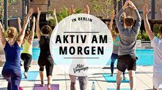 Open-Air-Yoga machen oder den ersten Kaffee des Tages mal mit grandioser Aussicht genießen – es gibt in Berlin viele Dinge, die besser sind als snoozen.