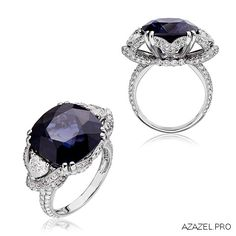 Ring with Spinel