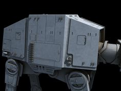 All-Terrain Armored Transport (AT-AT) by Ansel Hsiao on ArtStation. Imperial Walker, At At Walker, Star Wars Models, Star Wars Ships, Transportation, Stars, Artwork, Random Things, Empire