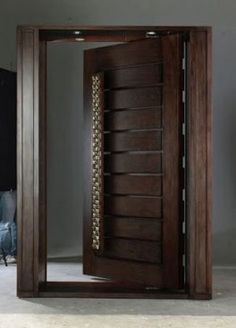54+ Trendy wooden main door modern home #home #door
