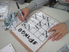 Spelling game idea