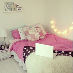 Resultado de imagem para quartos femininos normais