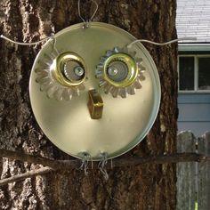 My garden owl.