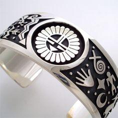 Gary & Elsie Yoyokie, silver bracelet