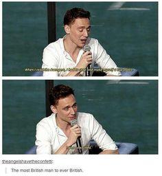 Tom Hiddleston ~ So British