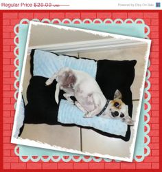 Black Friday Sale Dog Crate Mat Size 14 x 20 Minky by Kossitas, $17.00
