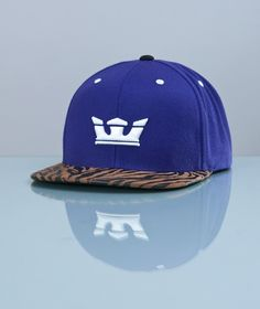 Supra-Icon Snapback Purple/Tiger