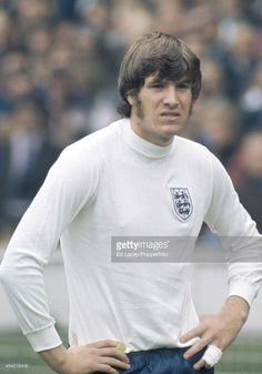 Emlyn Hughes of England during the international football match... News Photo | Getty Images