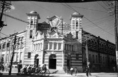 原日本台南郵便局,好有歐洲風啊~ 可惜在1973年被拆除蓋大樓了...ToT (台灣多樣性知識網) (張才 1916-1994)