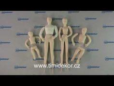 Modelování pomocí sady na lidská těla od firmy PME SugarCraft. Použitá hmota - White Icing obarvený oranžovou gelovou barvou Wilton.