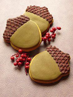 Acorn Cookie | Cookie Connection