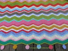 The Little Farmhouse: About crocheted blankets SOLD