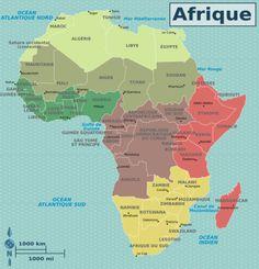 Afrique — Wikivoyage, le guide de voyage et de tourisme collaboratif gratuit