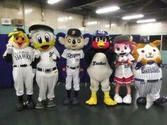 Mascots' reunion?