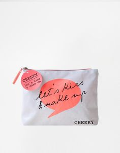 Image 1 ofCheeky Let's Kiss & Make-up Cosmetic Bag