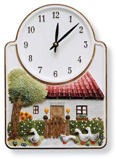 1000 images about k chenuhren on pinterest latte macchiato dekoration and clock. Black Bedroom Furniture Sets. Home Design Ideas