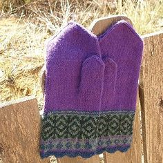 Ravelry: Arctic Spring Mittens pattern by Nanette Blanchard