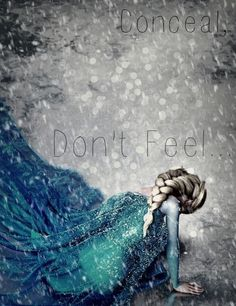 My favorite princess Disney character is Elsa because she was showed having all the signs of depression (guilt, isolation, irritability, sadness, etc) but got better in the end. Deco Disney, Disney Love, Disney Magic, Disney Art, Disney Films, Disney And Dreamworks, Disney Pixar, Disney Songs, Images Disney
