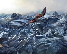 Beautiful illusions made by artist Jimmy Lawlor - Art People Gallery