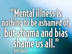 Stop the stigma around mental illness, this could improve treatment engagement significantly. Mental Health Stigma, Mental And Emotional Health, Mental Health Quotes, Infp, Mental Illness Awareness, Depression Awareness, Stop The Stigma, Invisible Illness, It Goes On
