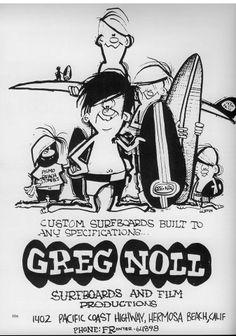 Greg Noll Surfboards Ad.