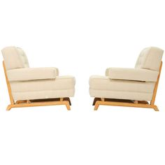 1stdibs.com   A Pair of Paul Laszlo Club Chairs