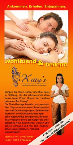 Kitty´s Thaimassage in Stuttgart - www.kittys-thaimassage.de