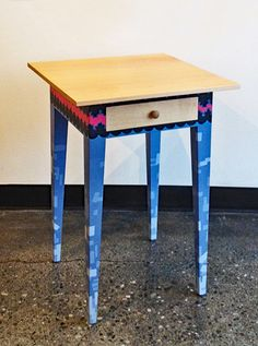 REID ANDERSON: Side Table/Night Stand