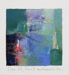 "https://flic.kr/p/22NoRDu | dec252017 | Dec. 25, 2017 9 cm x 9 cm (app. 4"" x 4"") oil on canvas © 2017 Hiroshi Matsumoto www.hiroshimatsumoto.com"