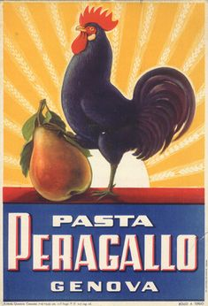 Pasta Peragallo by Anonymous - Vintage Food & Beverages Posters Gallery at I…