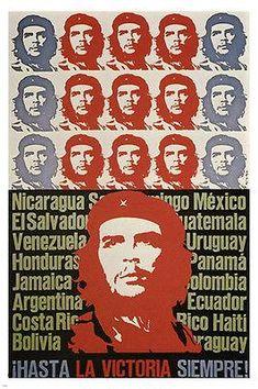 Che Guevara Poster Art Revolution In Latin America Cuba 1967 24x36 Rare Revolution Poster Revolution Che Guevara