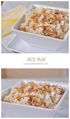We have been making this rice pilaf at our house for decades, my mother made it, I make it and my children make it!