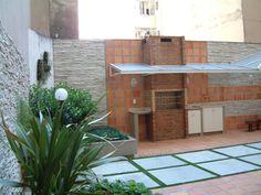 Área de lazer de Condomínio - RJ Projeto de Marisa Lima Paisagismo.