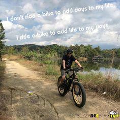I don't ride a bike to add days to my life, I ride a bike to add life to my days  🚴♀️🚴🏼♂️ #buzzybeebike #chiangmai #thailand #ebike #ebiking #fatbike #fatbiking #cyclingtour #cycletour #cycling #electricbicycle #thailandtravel #lovethailand #amazingthailand #thailandholiday #rideofyourlife #bikerideofyourlife #bikerideoftheday #bikeride