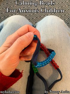 Does your child suffer from anxieties or finds it hard to calm down? These calming beaded strings, used with breathing techniques, can help calm them down. Things To Do Inside, Fun Things, Calming Activities, Pony Beads, Anxious, Children, Bead, Young Children, Boys