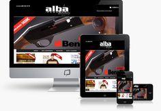 Tienda Online Caza y deporte diseño web responsive