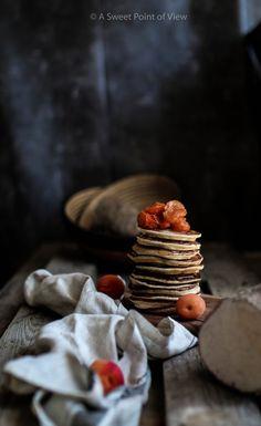 Yam Flour Pancakes w