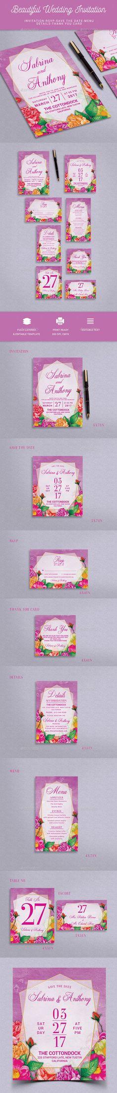 wedding invitation design psd%0A Wedding Invitation