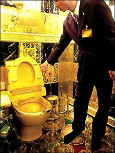 solid gold toilet seat.  1 2 Million Dollar Toilet Glutes and Gold