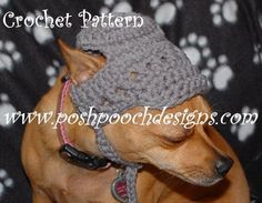 Looking for your next project? You're going to love Billed Dog Hat Dog Beanie by designer Posh Pooch. - via @Craftsy