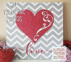 Free SVG file | Make this cute and easy DIY Valentine's Day project with your silhouette, cricut, or other electronic cutting machine.