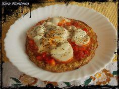 Desafio Semana 2 - Pizza com base de atum (com pimento vermelho, miolo de lagosta, tomate, mozzarella e piripiri)