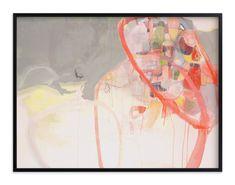 """Red Loops"" - Art Print by Kirsta Niemie Benedetti in beautiful frame options…"