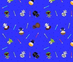Space Hero fabric by amandasocheekyfabric on Spoonflower - custom fabric