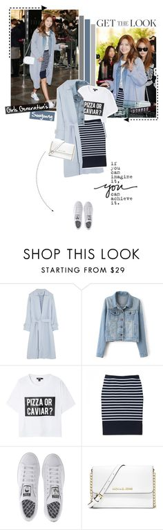 """""""Get the Look: Celebrity Airport Style - Sooyoung Girls Generation"""" by aisyh93 ❤ liked on Polyvore featuring Temperley London, DKNY, adidas, MICHAEL Michael Kors and vintage"""