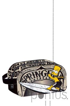 Bolsa c/1 asa p/desporto Simpsons just surf | JB