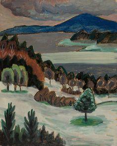 Staffelsee via Karl & Faber August Macke, Franz Marc, Wassily Kandinsky, Cavalier Bleu, Ludwig Meidner, George Grosz, Expressionist Artists, Max Ernst, Art Themes