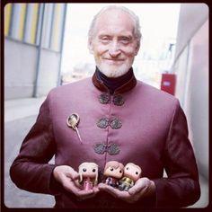 Charles Dance & Pop! Tywin Lannister http://www.funkosp.com/amz/B00GXOND1U/