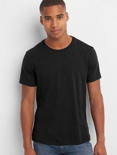 022e4b044f3 Classic T-Shirt. Mens EssentialsMens TopsClassic T ShirtsCrew NeckShort  SleevesGapIndigoCollar ...